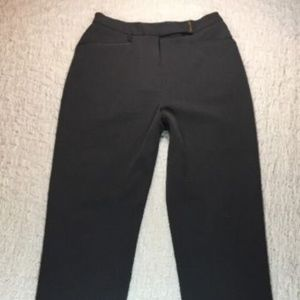 LAUREN RALPH LAUREN CHARCOAL GRAY TROUSERS